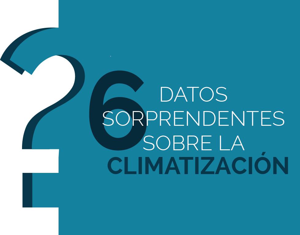 6 curiosidades sobre climatización