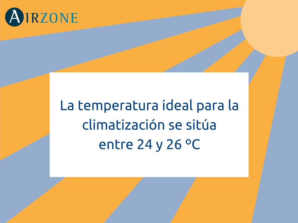 Cu l es la temperatura ideal para el aire acondicionado for Temperatura ideal aire acondicionado invierno