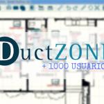 Ductzone supera las 1000 descargas
