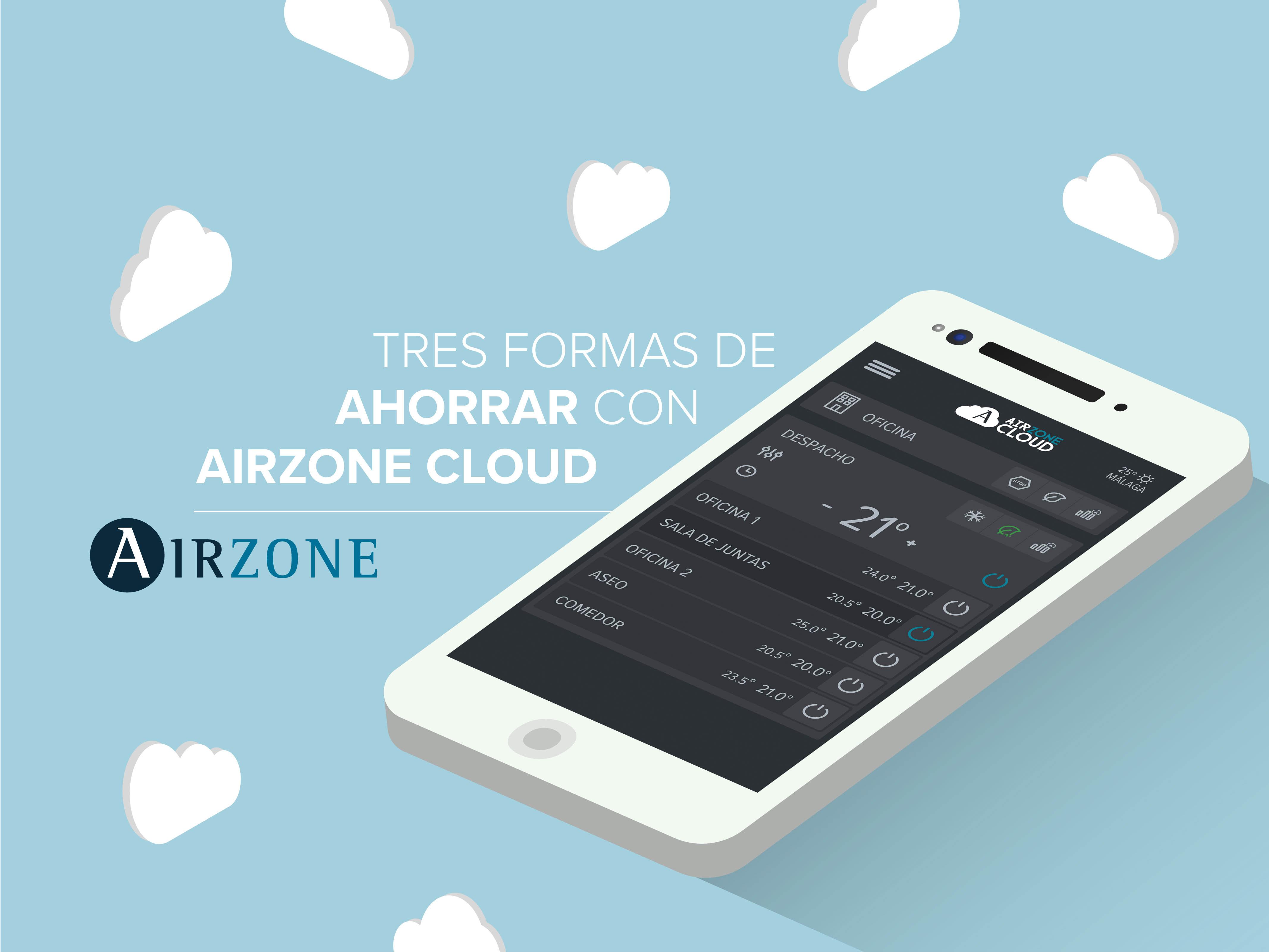 Cómo ahorrar con Airzone Cloud