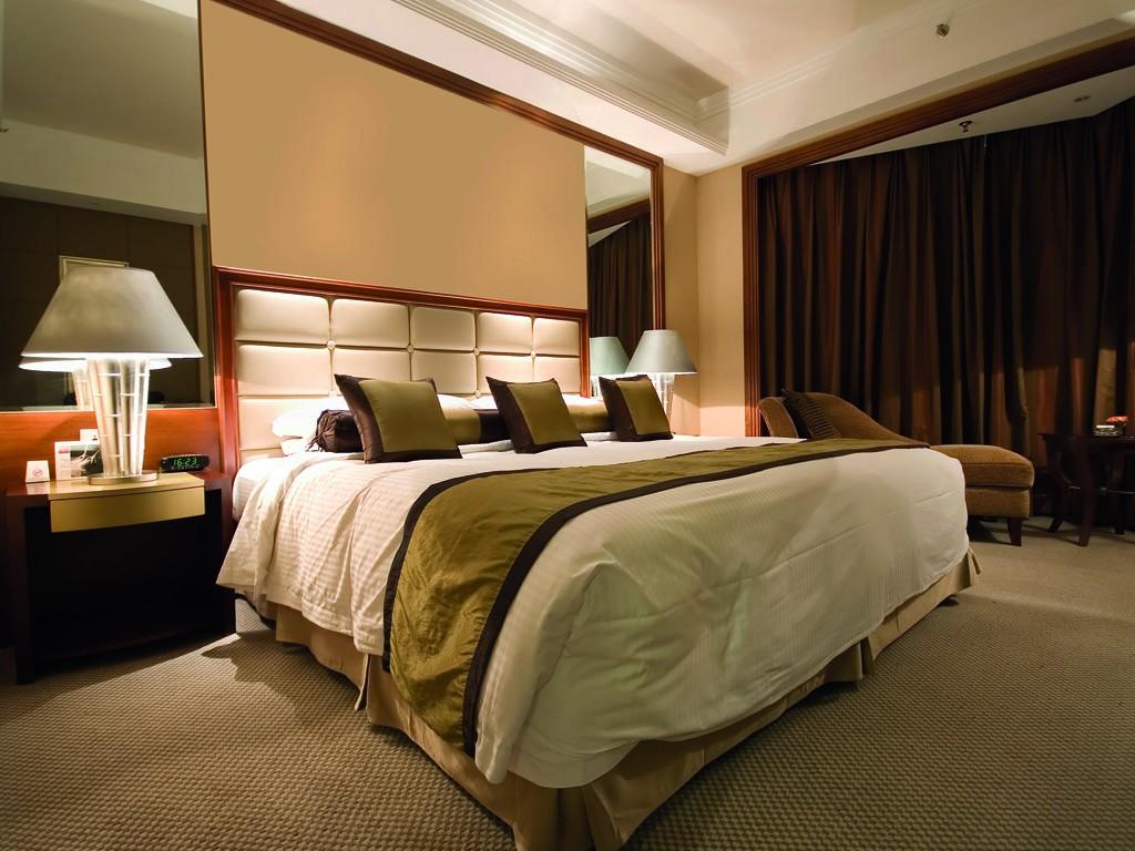 Habitación de hotel con climatización