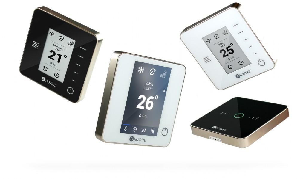 Nuevos termostatos digitales inteligentes
