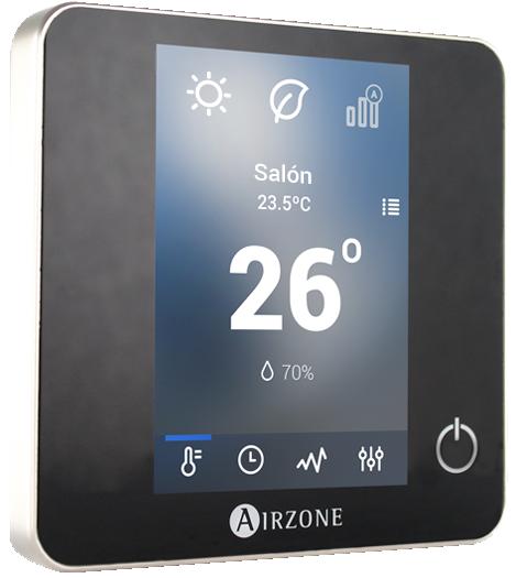 Termostato inteligente Airzone Blueface - Zona: salón