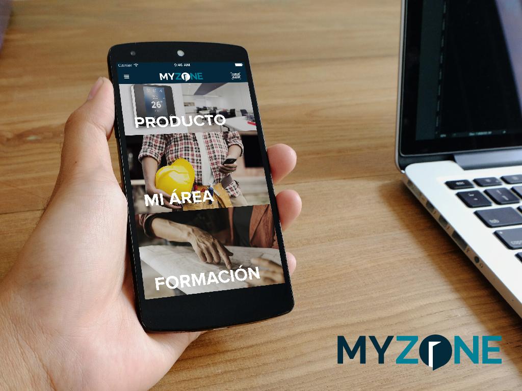 Aplicación profesional Myzone