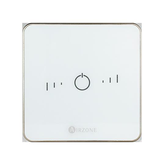 Termostato inteligente Airzone Lite blanco - Vista frontal