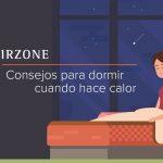 cómo dormir cuando hace calor